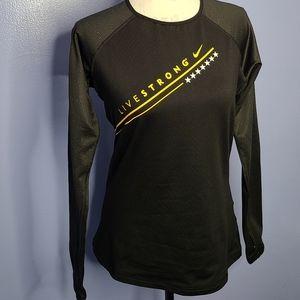 NIKE Livestrong Women's Pro Hyper Warm Shirt